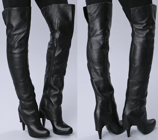 Report Signature Fitzgerald Over The Knee Boots | STAINED COUTURE